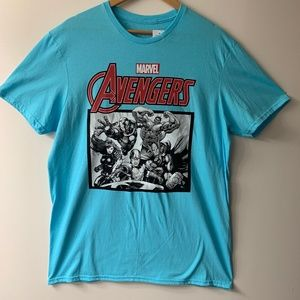 Marvel Avengers Graphic T-Shirt (Iron Man/Thor +)